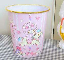 Cute For My Melody Bedroom Home Office Trash Can Waste Garbage Bin Wastebaskets $17.75