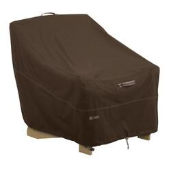 Durable Rainproof Brown 32-in x 34-in Polyester Madrona Adirondack Chair Cover