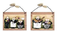 Chef Pictures Kitchen Cooking Servers Wall Hangings Chefs Waiters Cooks Plaques $10.99