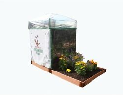 Monarch Migration Station Step Garden Greenhouse Professional Grade 4 x 4 ft.