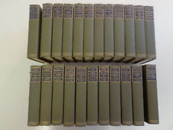 Mark Twain's Works - 23 Volumes 1904 Harpers Hillcrest Edition Decorative