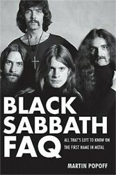 Black Sabbath FAQ: All That#x27;s Left to Know on the First Name in Metal Paperback $19.28