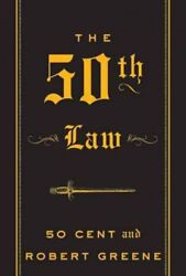 50th Law Paperback by 50 Cent; Greene Robert Brand New Free shipping in t...