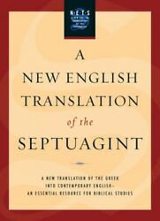 New English Translation of the Septuagint : And the Other Greek Translations ...