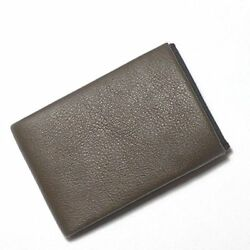Nero Wallet Ultra Slim Minimalist Mens Italian Nappa Leather Wallet With Full Rf