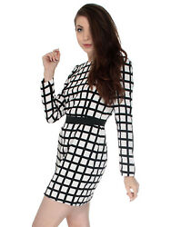 Elegant Womens Office Formal Business Casual Work Party Tunic Mini Dress $11.97