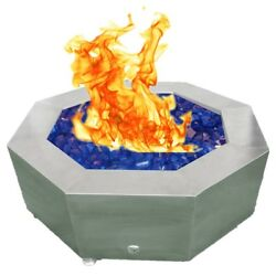 Octagon Gas Fire Pit Outdoor  42
