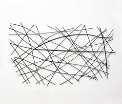 Contemporary Metal Wall Sculpture Abstract Modern Style Wall Art Home Decor $128.83