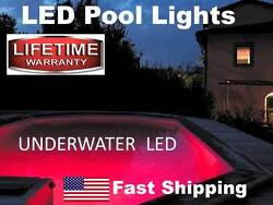 Swimming POOL LED lights - works with above ground or in ground pool - bright $119.00