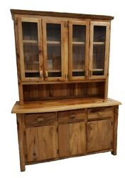 Very Nice New Log Cabin Furniture Cupboard