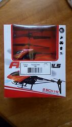 Mint Red Air patrol 2.5CH I R Remote Helicopter Unopened original box $10.99