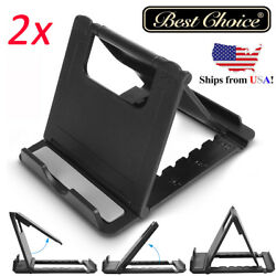 2X Foldable Stand Adjustable Multi-angle Holder For iPhone Tablet Universal LG $8.99