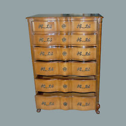 Dresser Highboy French Provincial Chest of Drawers Storage Neoclassical $600.00