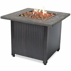 Outdoor Fire Pit Table Covers Propane Tank Backyard Fireplace Patio Gas Heater