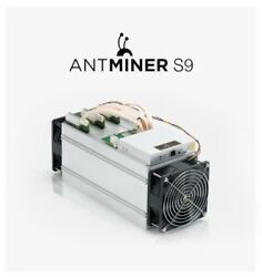 Bitmain Antminer S9 14THs Bitcoin Miner With PSU Ships Free