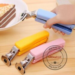 HOT Home Kitchen Anti Scald Plate Bowl Dish Pot Holder Carrier Clamp Clip Handle $8.75