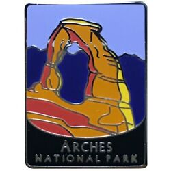 Arches National Park Pin - Official Traveler Series - Delicate Arch Utah