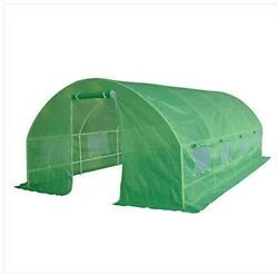 Large Walk-In Outdoor Greenhouse Grow House Portable Shed Garden 19.7'x10'x6.6'