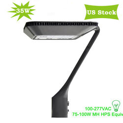 35W 5000K Outdoor LED Area Post Top Commercial Pathway Driveway Light Fixtures $128.00