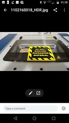 EpilogueZing 16  40W laser cutter-engraver used includes air compressorblower