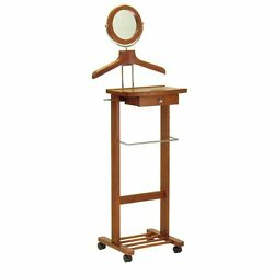 Winsome Jayden Wooden Valet Stand and Mirror
