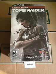 Tomb Raider Survival Collector's Edition (Sony PlayStation 3 2013) Brand New 4