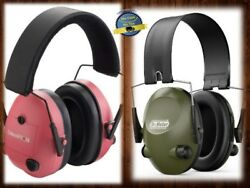 Electronic Hearing Protection Ear Muffs Noise Blocking Sound Earmuffs Shooting