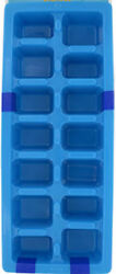 Easy Release Plastic Ice Cube Tray Pack of 2 Blue $5.99