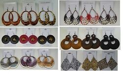 A 011 Wholesale Jewelry lot 10 pairs Mixed Style Drop Fashion Dangle Earring