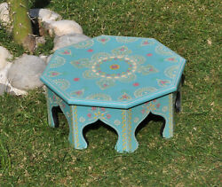 Xmas Home Kitchen Patio Low End Footstool Furniture Wooden Side Stool Table 14
