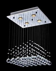 Luxury crystal lamp chandelier modern amp; contemporary ceiling pendant light $148.99