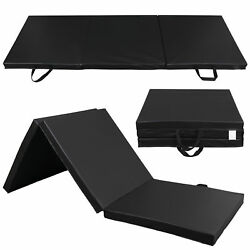 Heavy Duty Folding Mat Thick Foam Fitness Exercise Gymnastics Panel Gym Workout $32.99