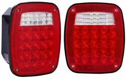 Universal Truck Boat 39 LED Stud Mount Combination Stop Turn Tail Light (2 PCS) $42.50