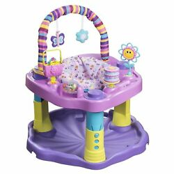 Evenflo Exersaucer Bounce And Learn Sweet Tea Party Baby Toy Activity Center $35.00