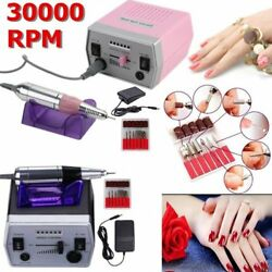 30000RPM Electric Nail Polish File Drill Manicure Tool Pedicure Machine Set MX