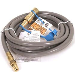 AZ Patio Heater 12 ft. Natural Gas Hose with Quick Connect