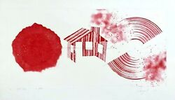 Hot Lake (State 2) Limited Edition Etching & Aquatint James Rosenquist