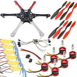 550mm F3 Naze32 Hexacopter Drone Kit 2212 Brushless Motors 30A ESC 2 3S 1045 Pro $124.95