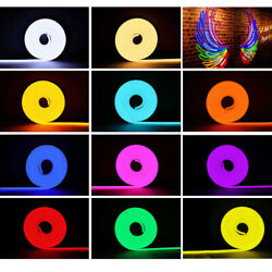 DC12V High Flex Silicone Neon LED Rope Light Outdoor Commercial Holiday Decor