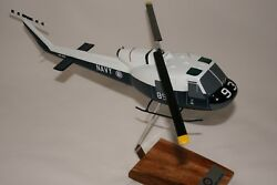 RAN IROQUOIS HELICOPTER LARGE 1:48 SCALE HANDCRAFTED DESK MODEL AU $195.00