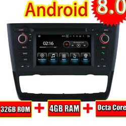 Android 9.0 Car DVD Player For BMW E81E82E88 1 Series 2004+ GPS Radio Stereo