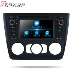 Android 9.0 Car DVD Player Fit For BMW 1 Series E81E82E882004+GPS Navi Stereo