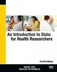 Introduction to Stata for Health Researchers Paperback by Juul Svend; Fryde...