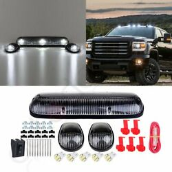 3PCS cab clear marker light cover T10 White LED for Chevy Silverado GMC Sierra $31.99