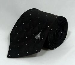 Past Master WITH Square Woven Necktie Black Style 2 $16.95