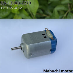 DC12V 21800RPM High Speed 5 Pole Rotor Reverse Axis Micro Motor DIY Toy Car Boat $1.50