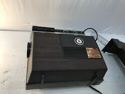 Vintage ANSCOMATIC 680 SLIDE PROJECTOR Portable Lights W Carousel