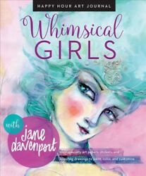 Whimsical Girls Paperback by Davenport Jane Brand New Free shipping in th...