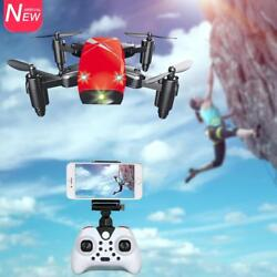 2.4G 4CH 6 axis Gyro RC Quadcopter S9 Micro Foldable WiFi FPV Camera Drone $36.99