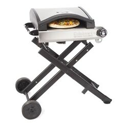 Pizza Oven Propane Gas Fired Portable Outdoor Grill Backyard LP Mobile Cooker